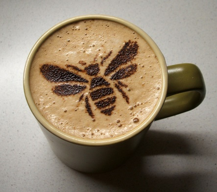 Bees and Coffee Buzz?  Who Knew?