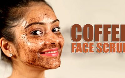 Coffee Grounds Facial!?